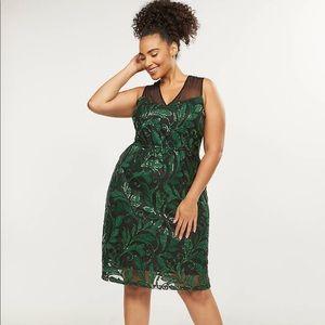 Lane Bryant Dresses - Lane Bryant Embroidered A Line Dress NWT Size 20